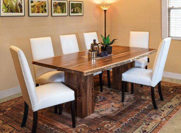 Amish Rio Vista Trestle Dining Set