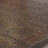 Amish Vintage Leg Dining Table Top Detail