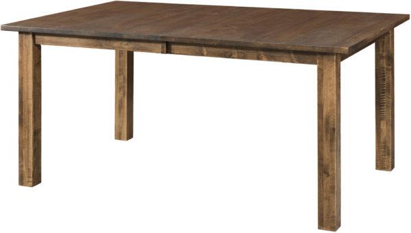 Amish Vintage Leg Dining Table
