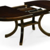 Amish Bedford Dining Table Open