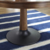 Amish Bowie Dining Table Base Detail