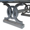 Amish Elliot Dining Table Detail