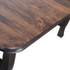 Amish Foley Dining Table Top Detail