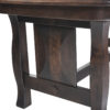 Amish Foley Dining Table Base Detail