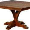 Amish Francis Pedestal Table