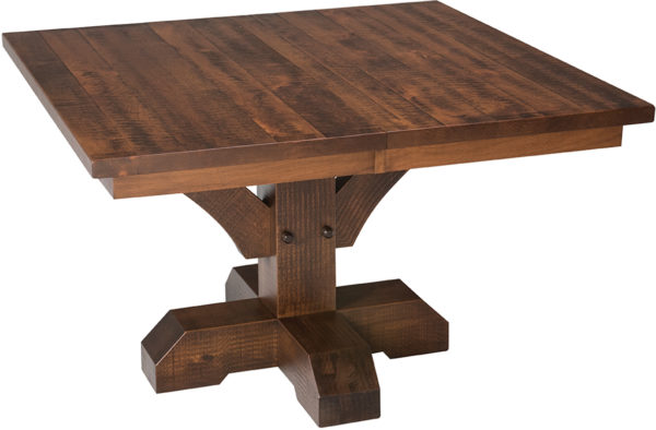 Amish Reagan Single Pedestal Table