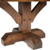 Amish Reagan Single Pedestal Table Base