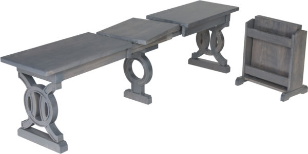 Amish Elliot Extend-a-Bench