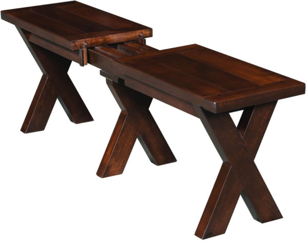 Amish Frontier Extend-a-Bench
