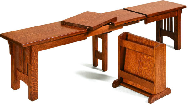 Amish Mission Extend-a-Bench