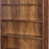 Amish 72 Inch Oak Ridge Bookcase