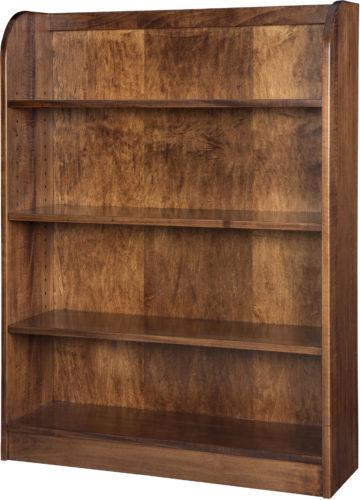 Amish Oak Ridge Bookcase