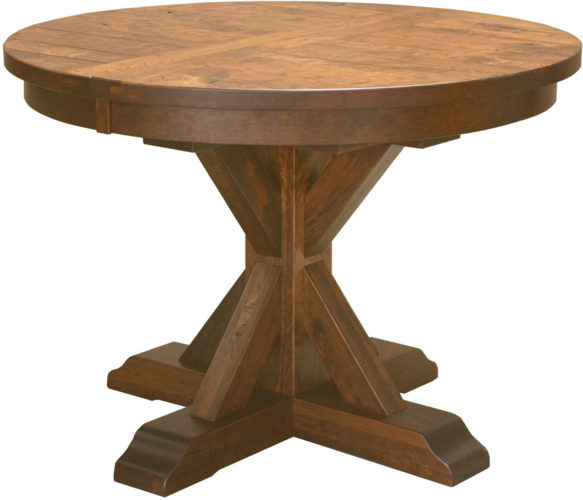 Amish Alberta Pedestal Table