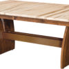Amish Delphi Trestle Dining Table