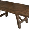 Amish Hamlet Trestle Dining Table with Leaves