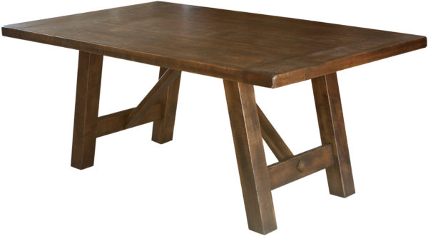 Amish Hamlet Trestle Dining Table