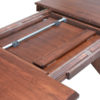 Amish Harper Trestle Dining Table Butterfly Leaf Stored