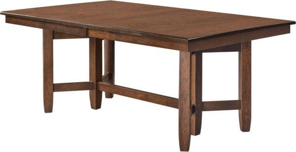 Amish Montana Trestle Dining Table