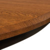 Amish St. Charles Single Pedestal Table Detail
