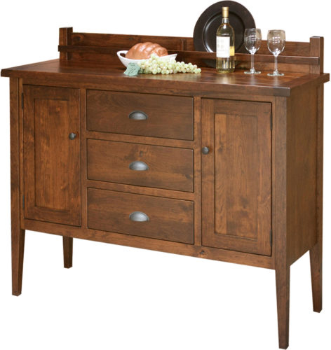 Amish Jacoby 3 Drawer Sideboard