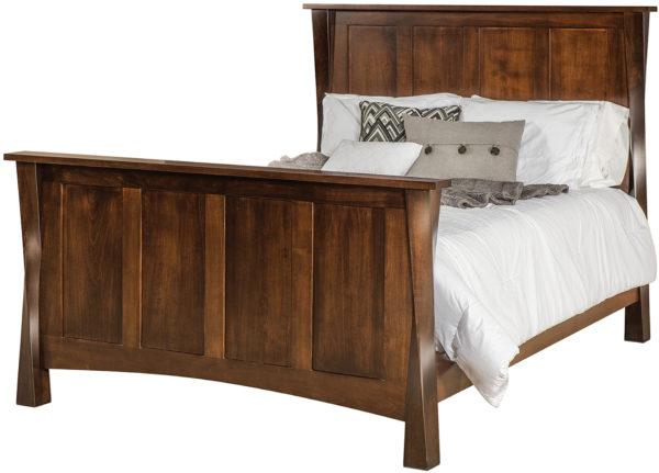Amish Lexington Panel Bed