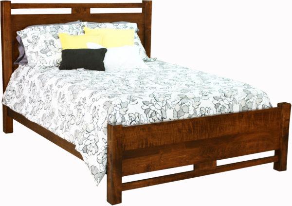 Amish Lakota Hardwood Bed