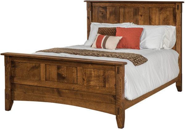 Amish Tacoma Panel Bed