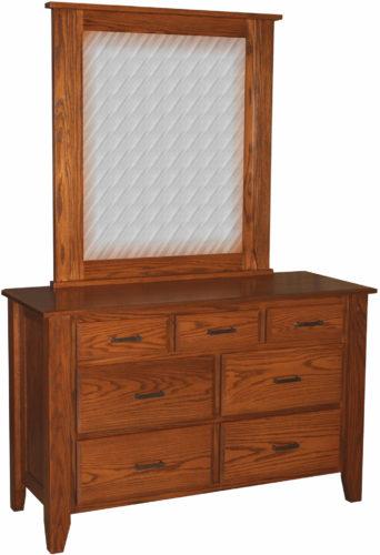 Amish Ashton Seven Drawer Dresser