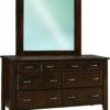 Amish Ashton 7 Drawer Wide Dresser
