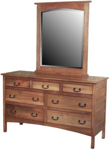 Amish Granny Mission 7 Drawer Dresser