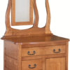 Amish Granny Mission Commode with Mirror