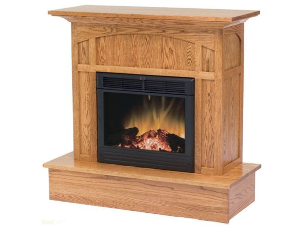 Amish Mission Fireplace