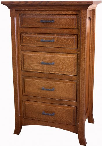 Amish Homestead Five Drawer Lingerie Chest