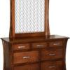 Custom Vandalia Narrow 7 Drawer Dresser