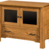 Small Amish Cambridge Plasma TV Stand