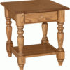 Amish Grand Harvest Large End Table