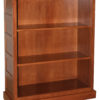 Amish 48 Inch Granny Mission Enclosed Base Bookcase