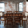 Amish Adair and Callahan Dining Set