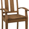 Amish Aspen Arm Dining Chair