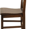 Amish Baldwin Dining Chair Side Detail