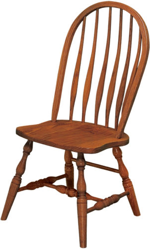 Amish Bent Feather Dining Chair