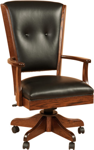 Amish Berkshire Desk Chair