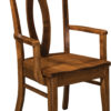 Amish Brookfield Dining Arm Chair