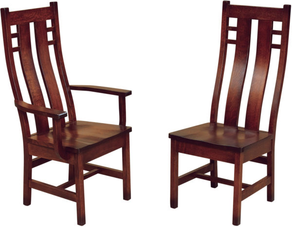 Amish Cascade Dining Chairs