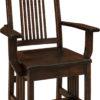 Amish Centennial Mission Arm Chair