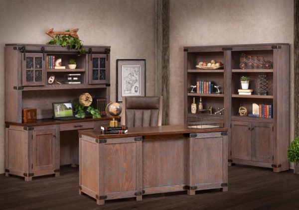 Amish Georgetown Office Furniture Set