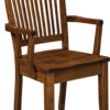 Amish Jefferson Dining Arm Chair