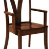 Amish Levine Arm Dining Chair