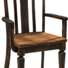 Amish Lexington Arm Dining Chair