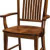 Amish Lyndon Dining Arm Chair